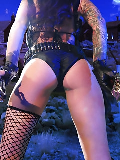 Sexy Naked Girls in Fishnets